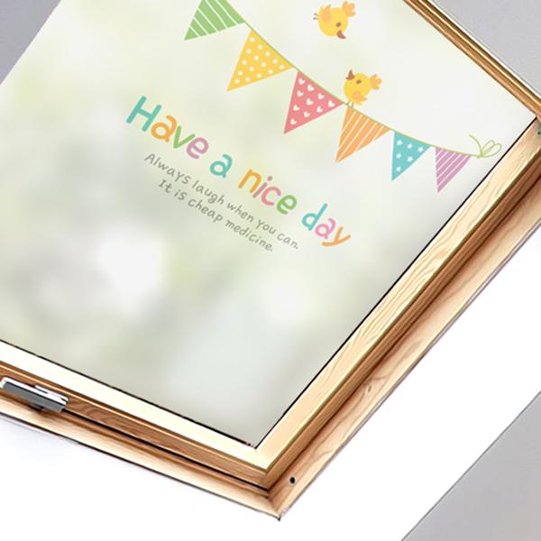Have a nice day 01 [고급 컬러 안개시트지/유리 시트지]