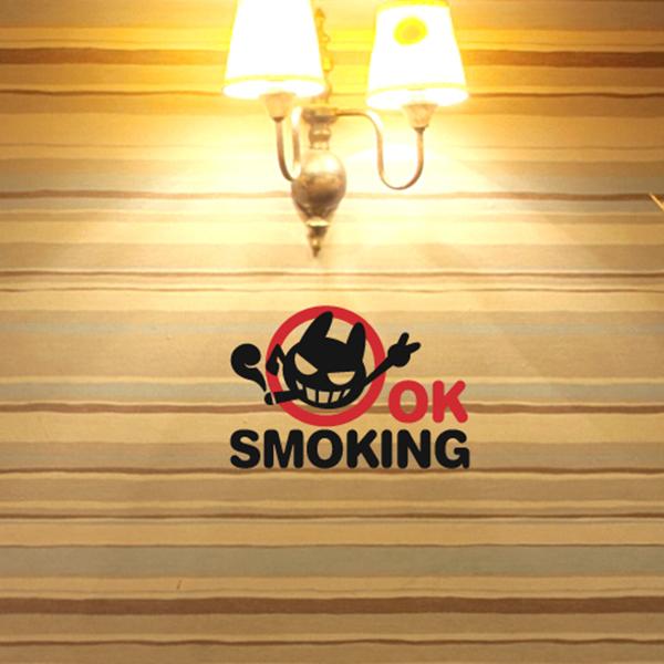 OK스모킹 [흡연 스티커/인테리어 스티커]